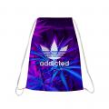 ADDICTED Drawstring bag