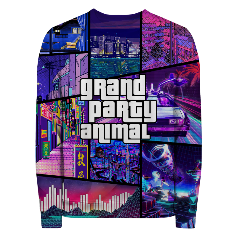 GRAND PARTY ANIMAL Sweater
