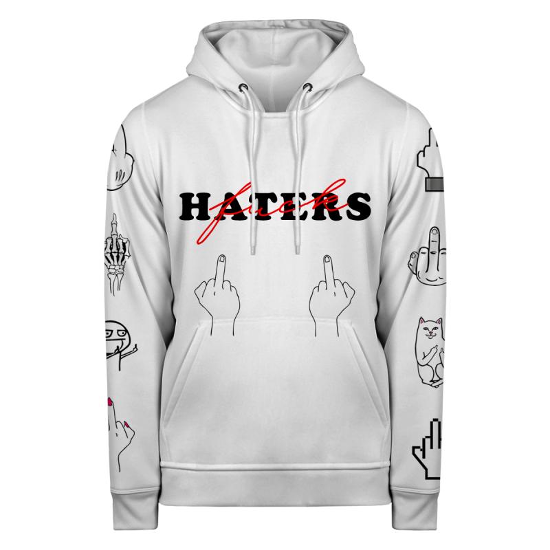Bluza z kapturem FUCK HATERS