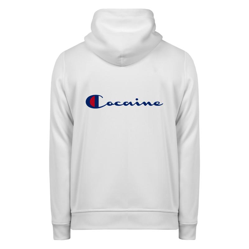 COCAINE Hoodie Zip Up