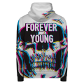 FOREVER YOUNG Hoodie Zip Up