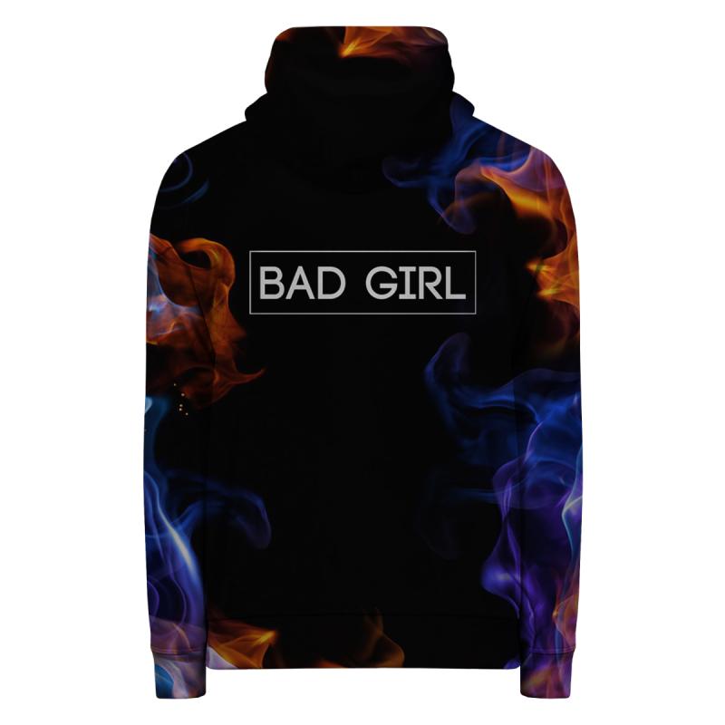 Bluza z zamkiem BAD GIRL