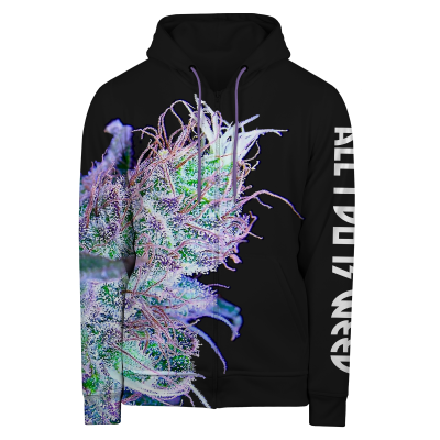ALL I DO IS WEED Hoodie Zip Up