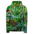 GOOD WEED Hoodie Zip Up