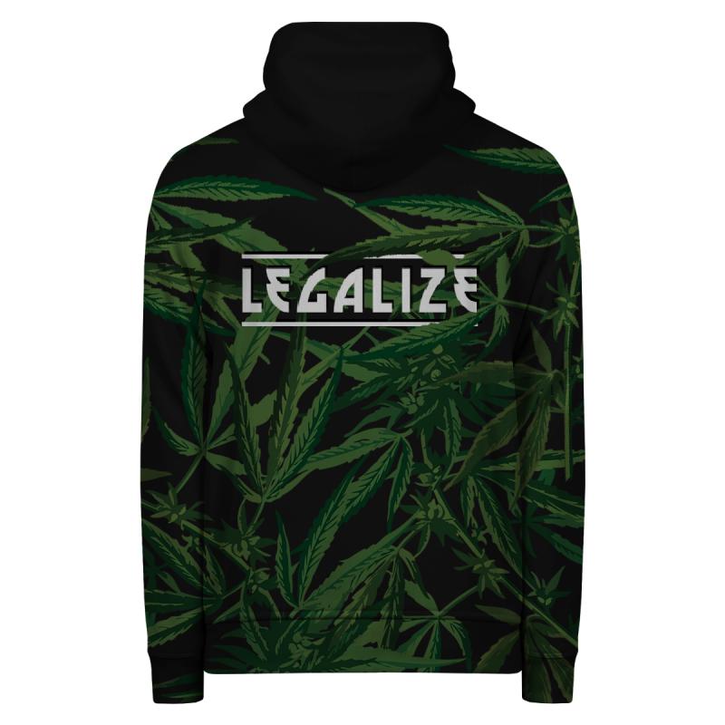 LEGALIZE Hoodie Zip Up