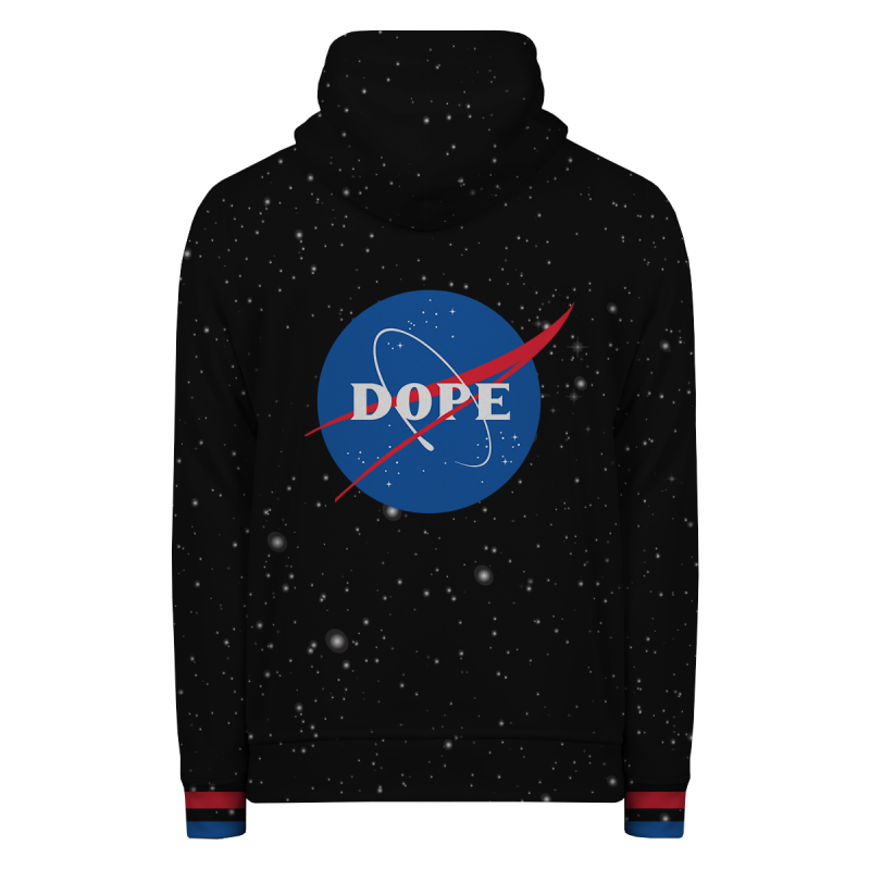 NASA DOPE Hoodie Zip Up