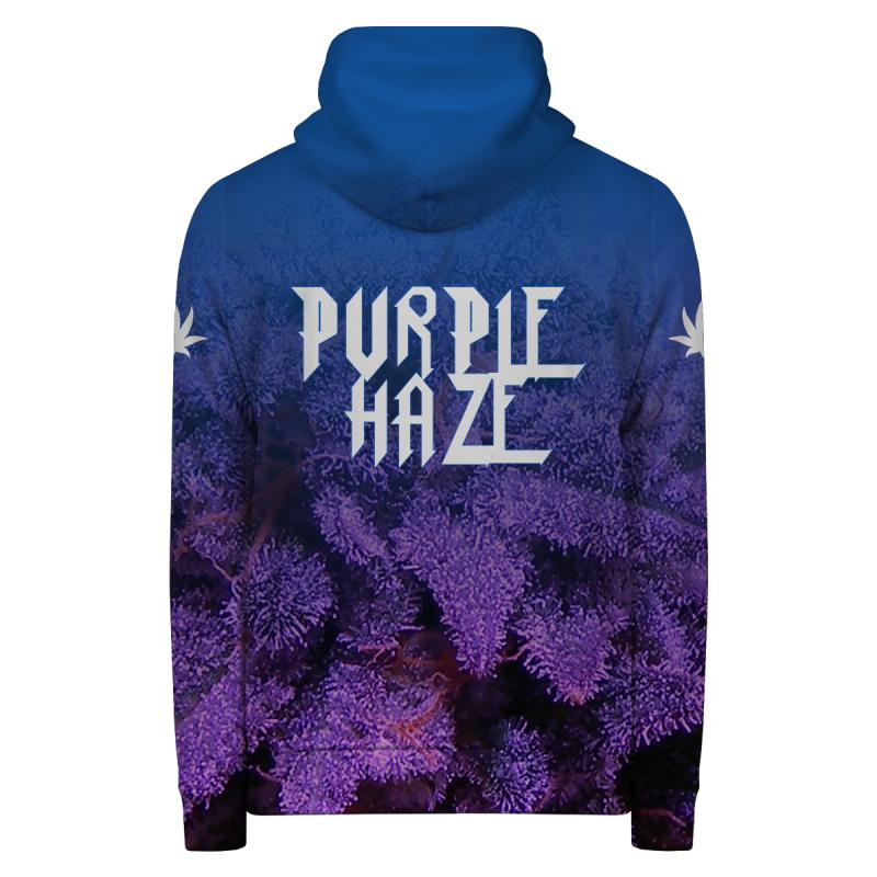 Bluza z zamkiem PURPLE HAZE