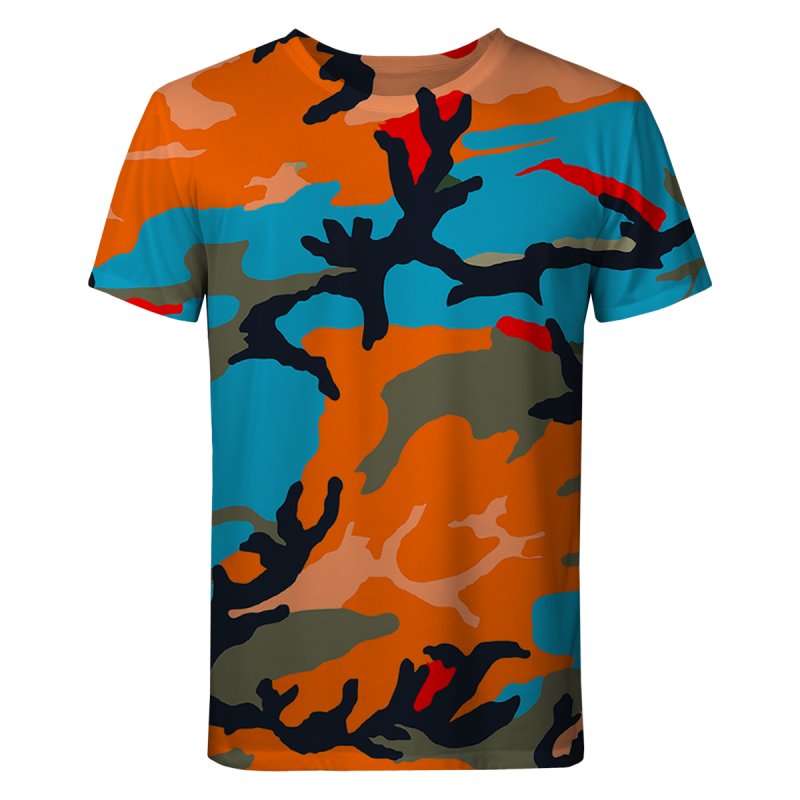 COLORFUL ARMY T-shirt