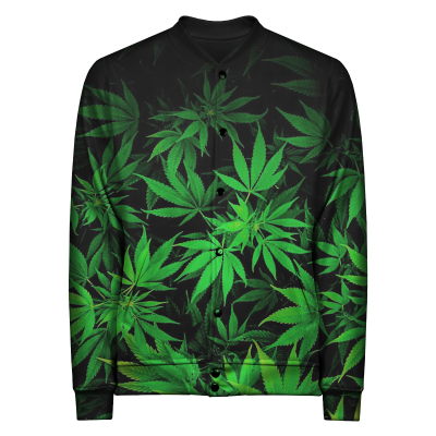 THE ROLLING JOINT Baseball Jacket