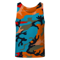 COLORFUL ARMY Tank Top
