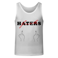 FUCK HATERS Tank Top