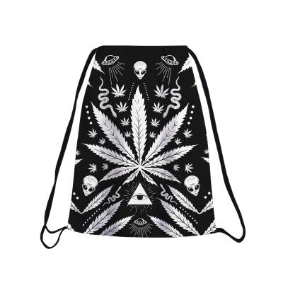 WEED EYE Drawstring bag