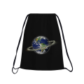 IT'S ALL ABOUT MONEY Drawstring bag