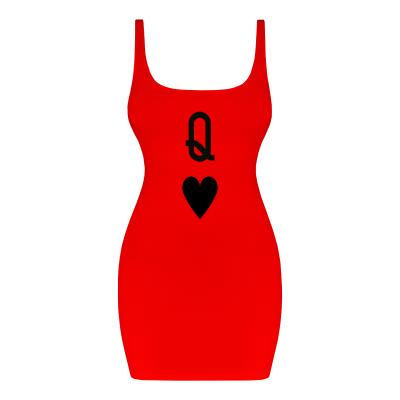 CARD HEART SPADE Dress