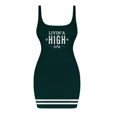 LIVIN A HIGH LIFE Dress