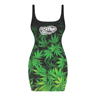 THE ROLLING JOINT Dress
