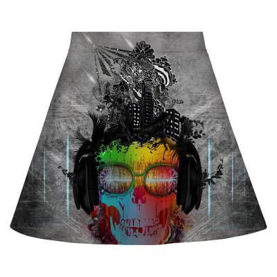 MUSIC REBEL Skirt