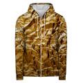 GOLDEN LEAF Hoodie Zip Up