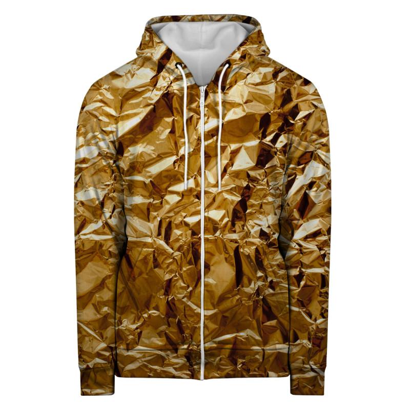 Bluza z zamkiem GOLDEN LEAF