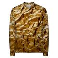 GOLDEN LEAF Baseball Jacket