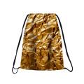 GOLDEN LEAF Drawstring bag