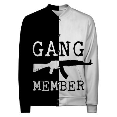 GANG MEMBER Baseball Jacket