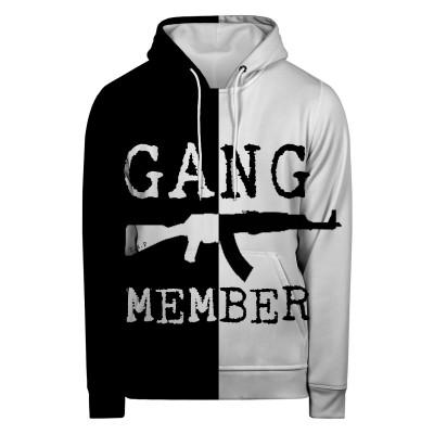 Bluza z kapturem GANG MEMBER