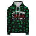 Bluza z kapturem WEED & NETFLIX