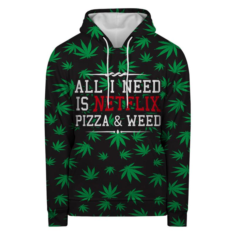 WEED & NETFLIX Hoodie