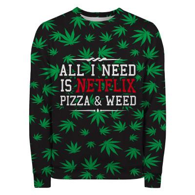 WEED & NETFLIX Sweater