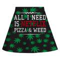 Spódnica WEED & NETFLIX
