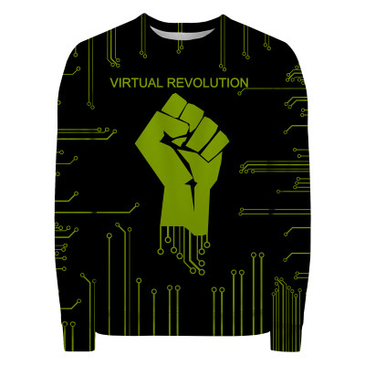 VIRTUAL REVOLUTION Sweater