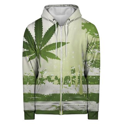WEED PULL Hoodie Zip Up