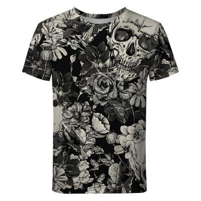 Koszulka SKULLS AND FLOWERS