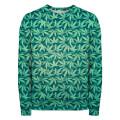 GREEN WEED Sweater