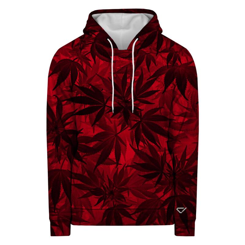 RED LEAVES Hoodie