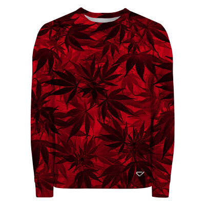 Bluza RED LEAVES