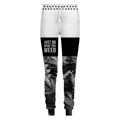 DO WHAT YOU WEED Womens sweatpants