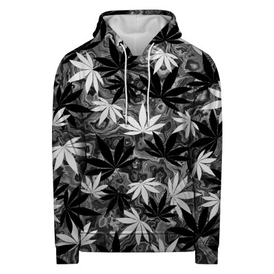 Bluza z kapturem BLACK AND WHITE