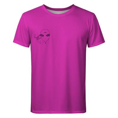 PINK ALIEN T-shirt