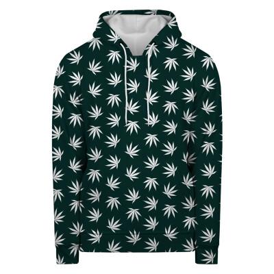 WEED PATTERN GREEN Hoodie