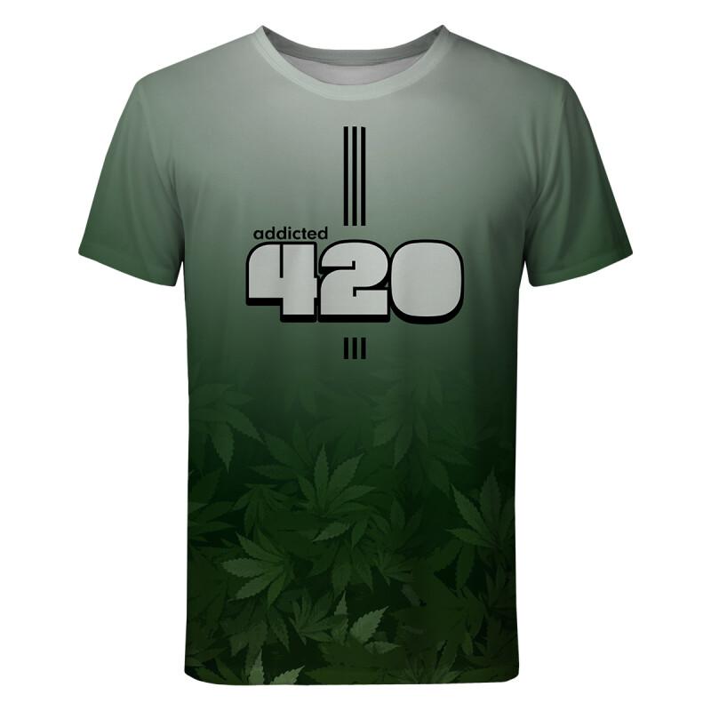 GREEN NUMBER T-shirt