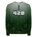 GREEN NUMBER Sweater