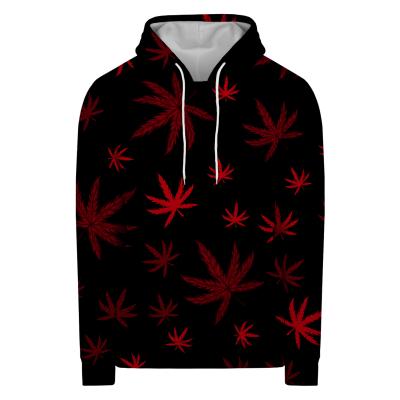 Bluza z kapturem RED PATTERN