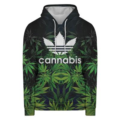 Bluza z kapturem CANNABIS