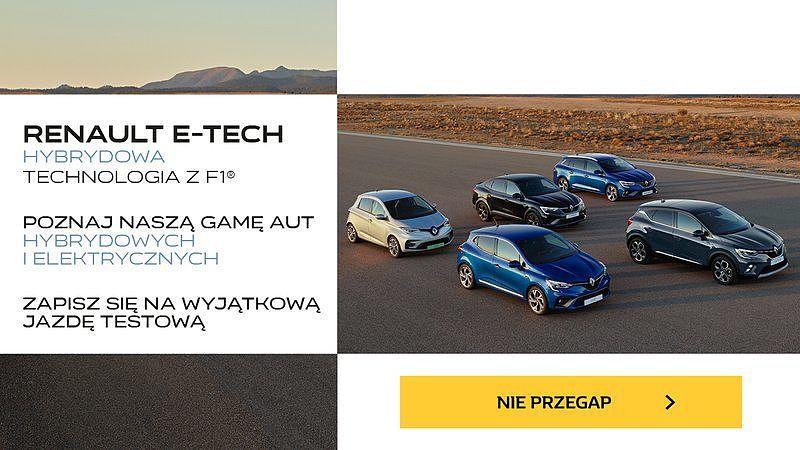 Do salonu Renault Karasiewicz i Syn sp. z.o.o. w Radomiu wjechały nowe hybrydy i samochody elektryczne!