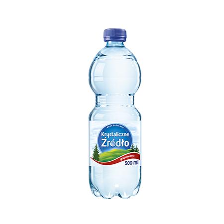 Woda gazowana 0,5L