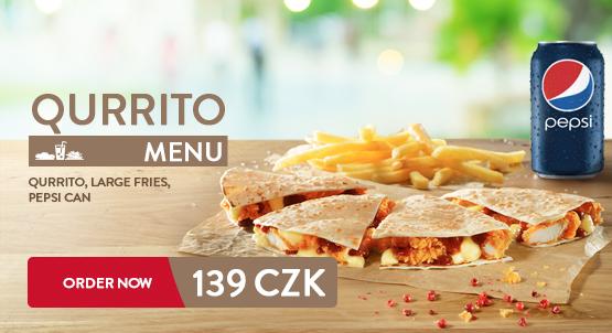 Qurrito menu RIGHT