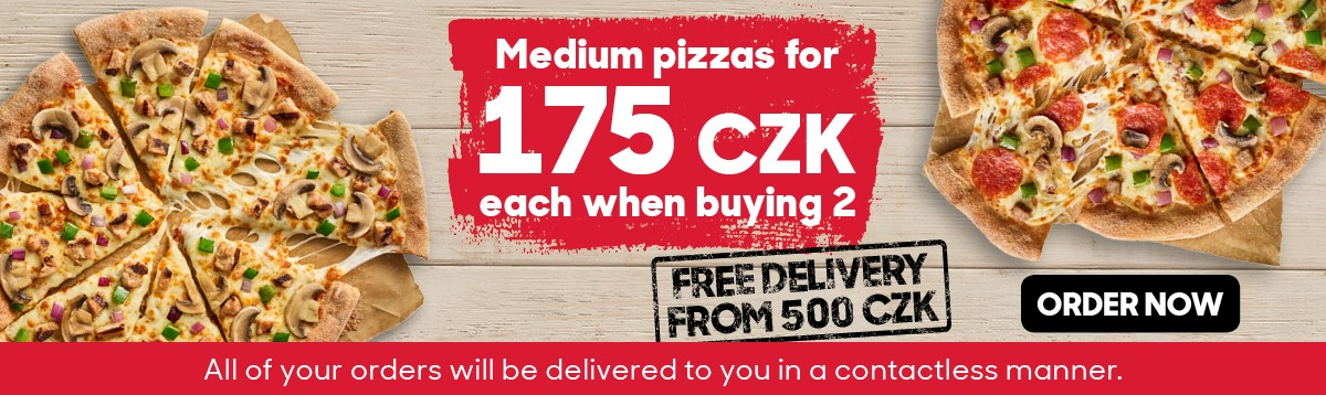 2 middle pizza deal
