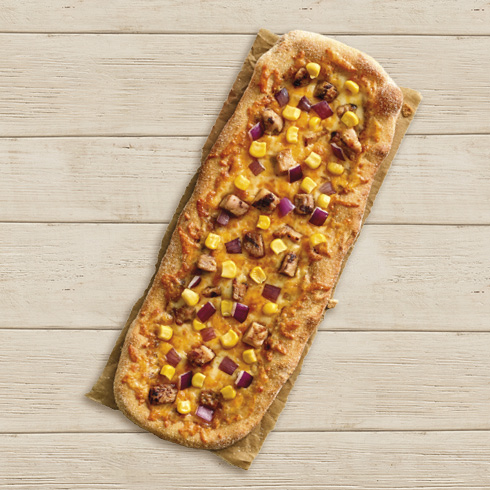 LONG PIZZA CHICKEN & CHEDDAR